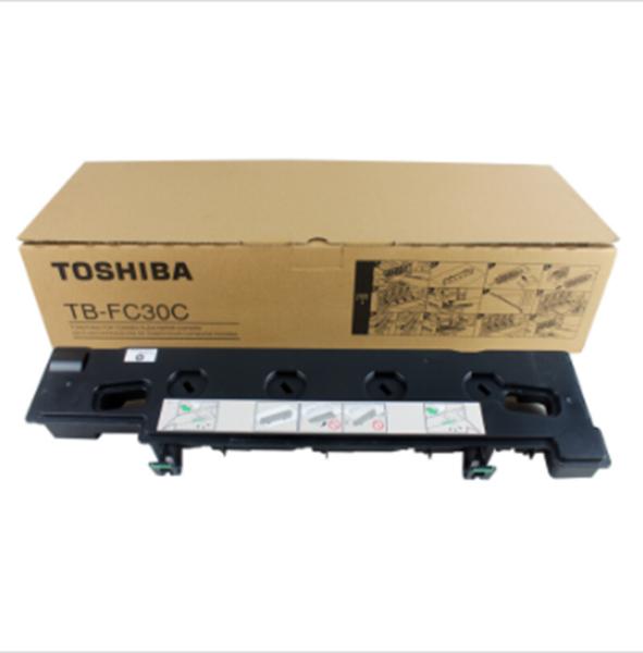 图片 东芝TB-FC30C原装废粉盒 适用于2050C/2550C/2051C/2551C