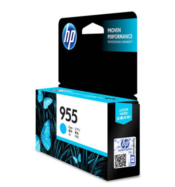 图片 惠普(HP) 955原装 青色墨盒