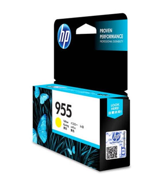 图片 惠普(HP)955 原装黄色墨盒
