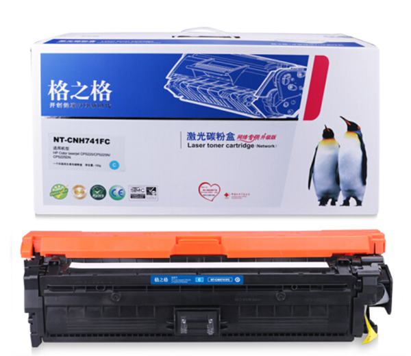 图片 格之格NT-CH741FC(蓝色墨盒)适用于HP color Laser jet cp5225