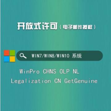 图片 Microsoft Windows Pro GGS Windows专业完全版操作系统,可提供win 7,win 8,win 10安装程序和授权文件,可以更换设备使用一年保修